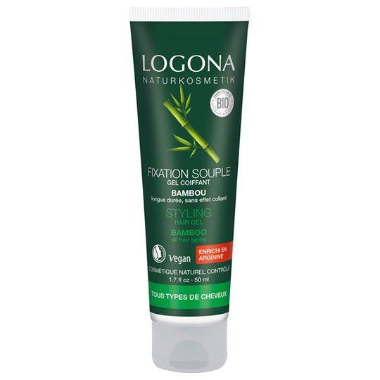 Logona Bamboo Hair Styling Gel, 50 ml