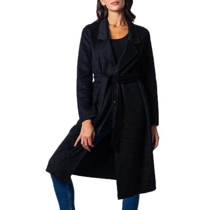 Desigual Women's Coat Black 177044 - black M