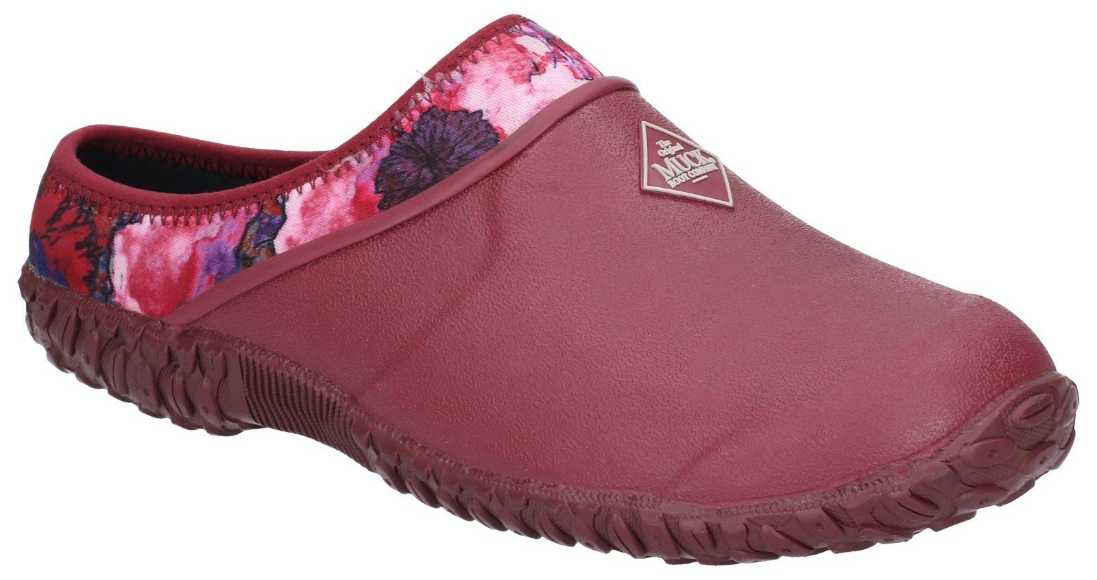 Muck Boots Women's Muckster II Slip On Clog Various Colours 28900 - Red 3