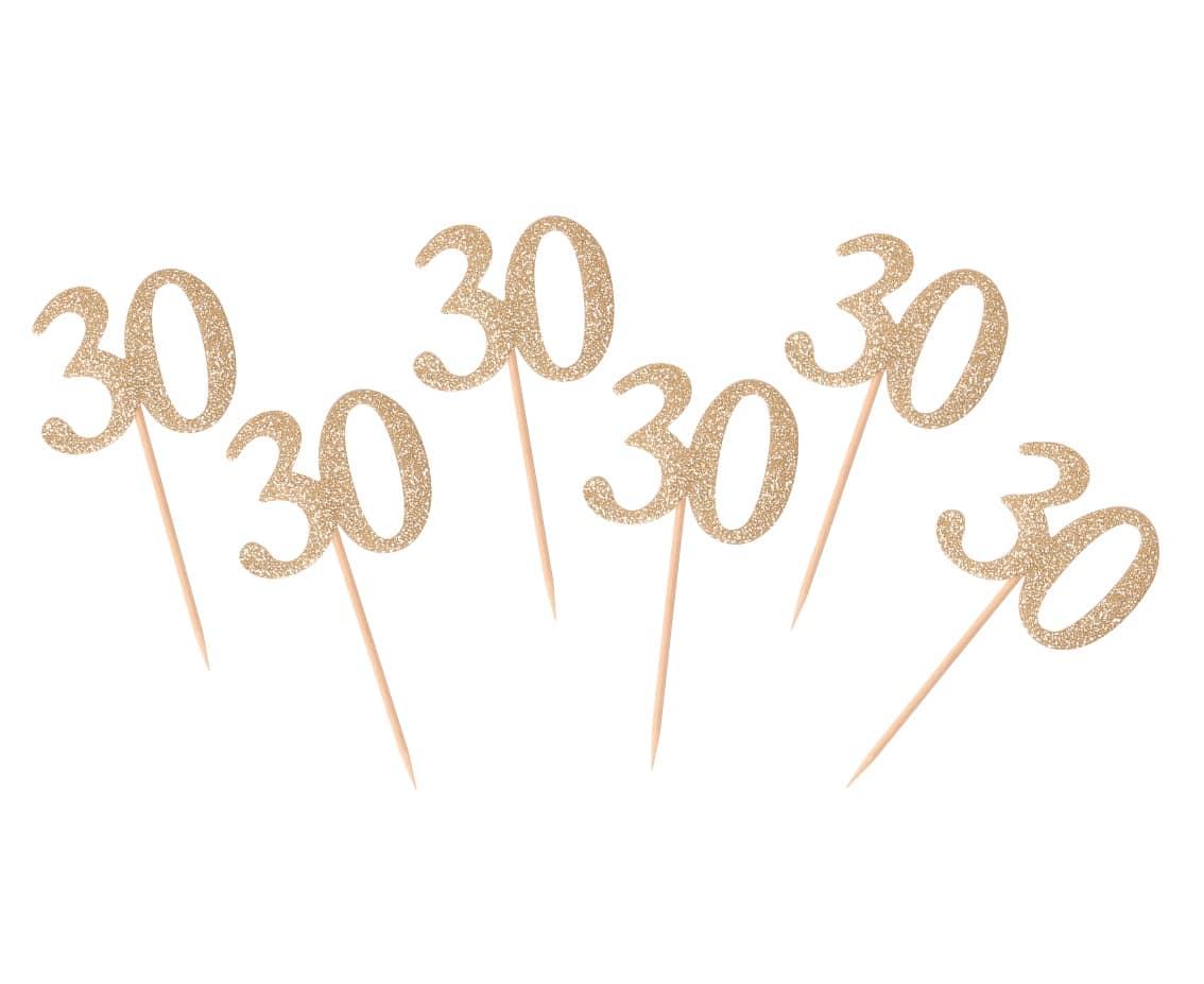 Cocktailpinnar 30-år guld