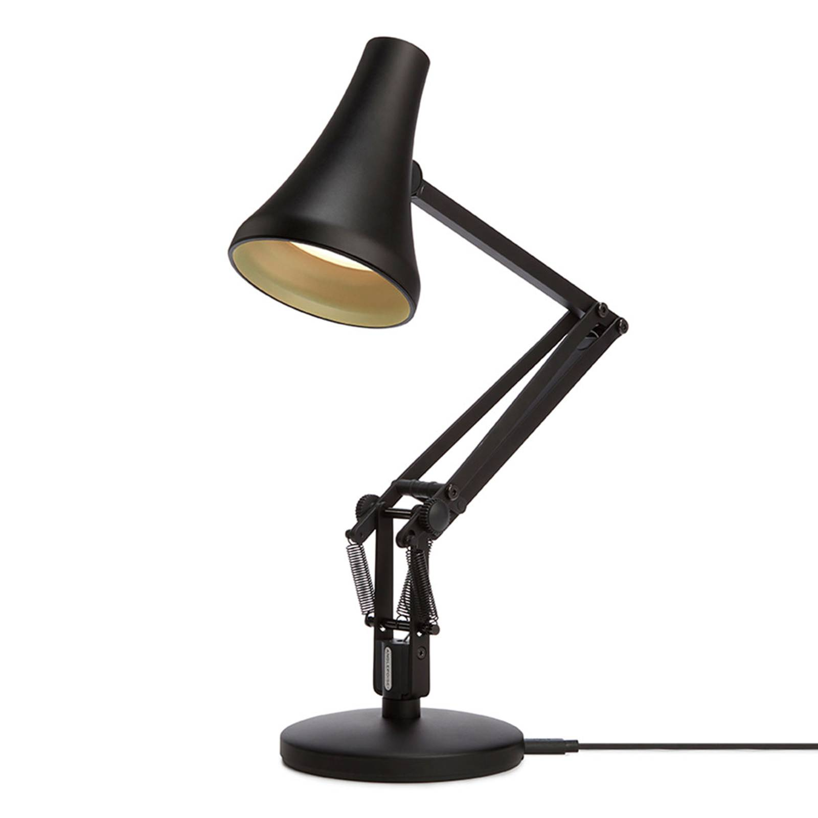 Anglepoise 90 Mini Mini -LED-pöytälamppu musta
