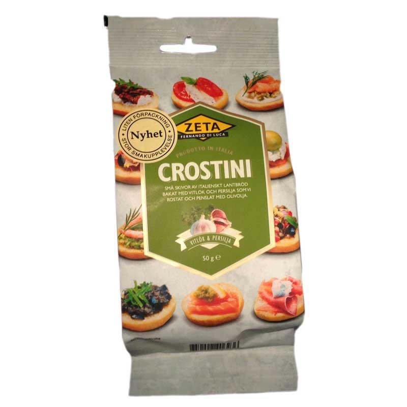 Crostini Vitlök och Persilja - 60% rabatt
