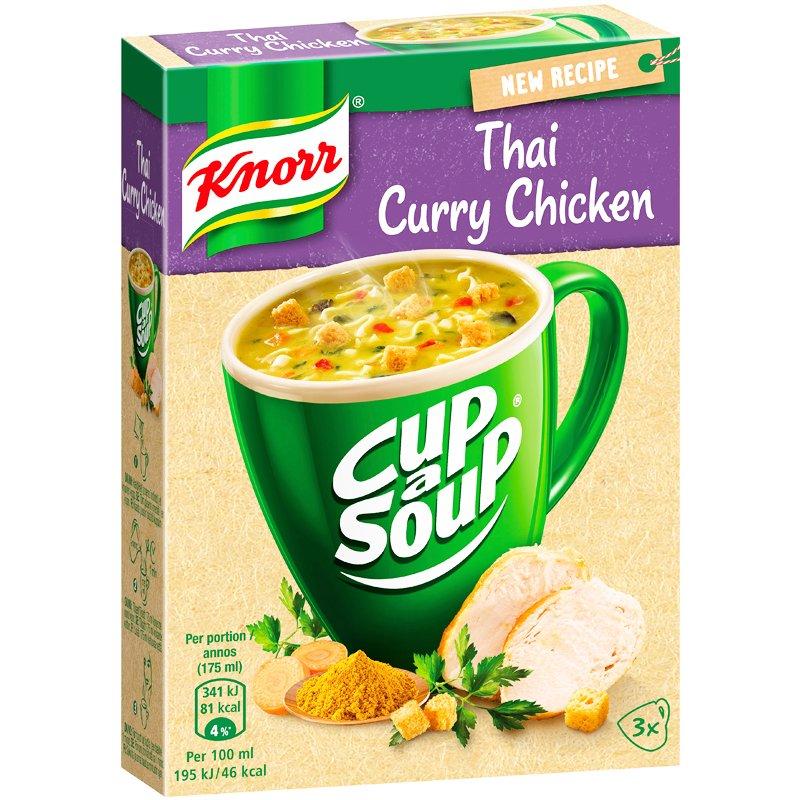 Keitto Thai Curry Chicken 3kpl - 28% alennus