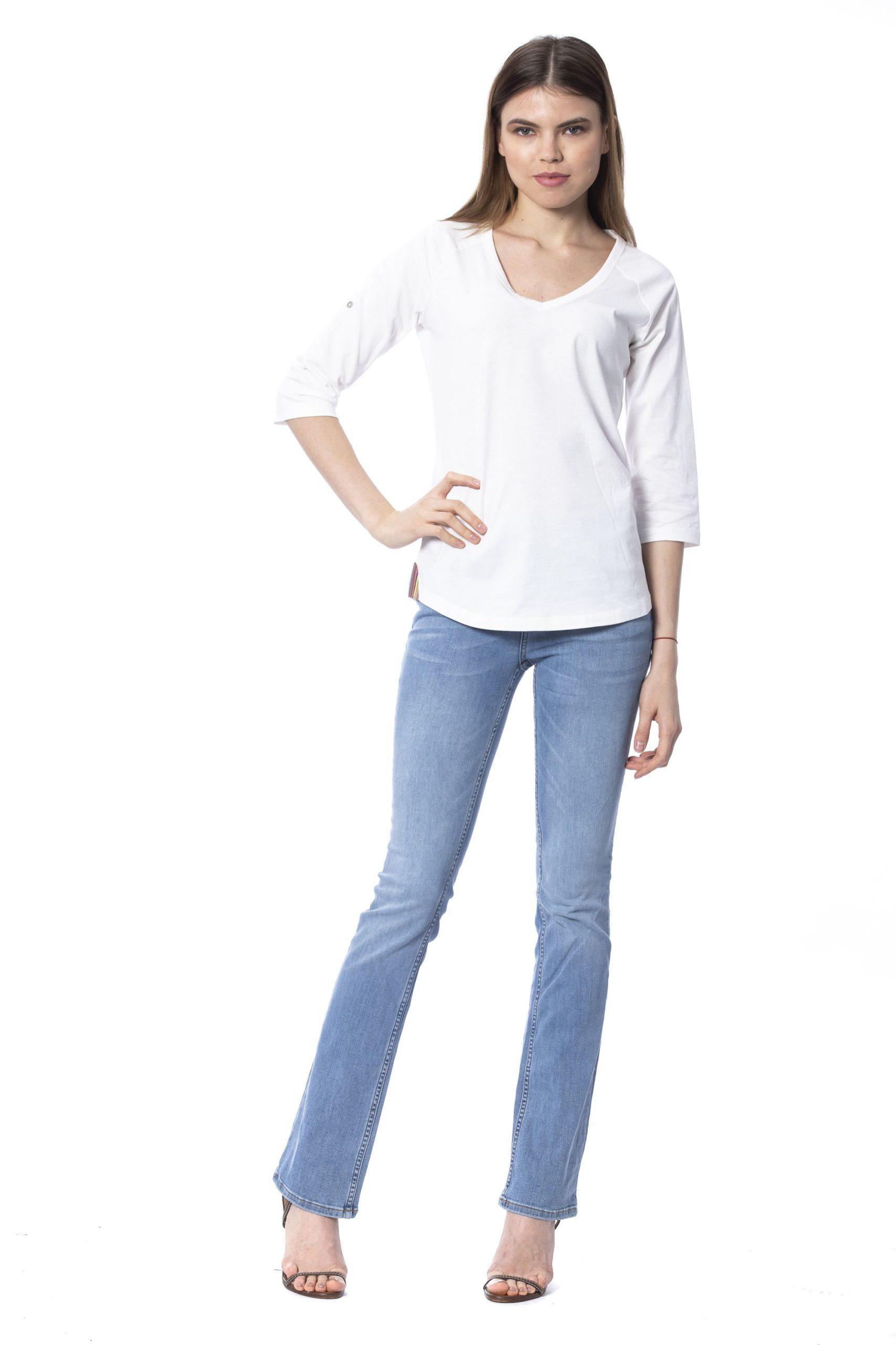 Silvian Heach Women's Milk T-Shirt White SI1235310 - XXS