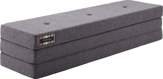 KlipKlap 3 Fold Madrass XL, Mørkegrå