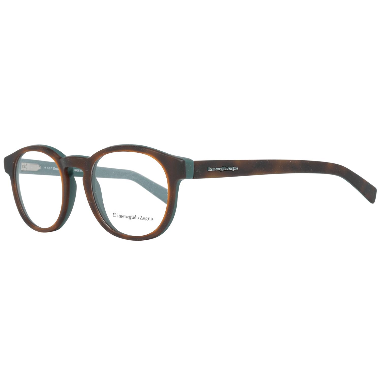 Ermenegildo Zegna Men's Optical Frames Eyewear Brown EZ5104 50A56