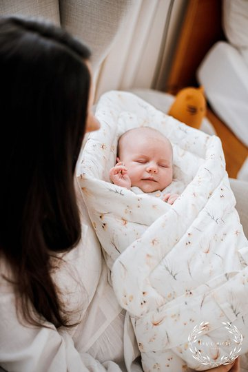 Babyly Baby Wrap, Boho Flower