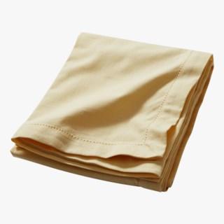 Ester 90x90cm Tablecloth, Light yellow
