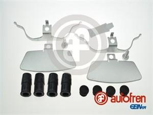 Tarvikesarja, jarrupala, Etuakseli, AUDI A6, A6 Avant, A7 Sportback, A8