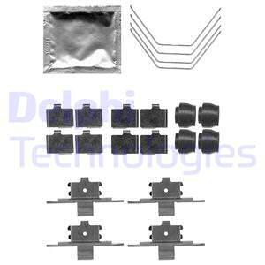 Tarvikesarja, jarrupala DELPHI LX0521