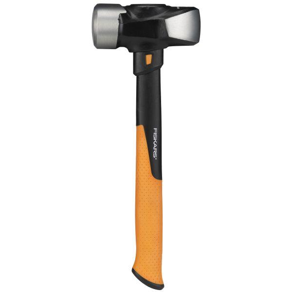 Fiskars 1020218 Meiselhammer L, 1,8 kg/36 cm