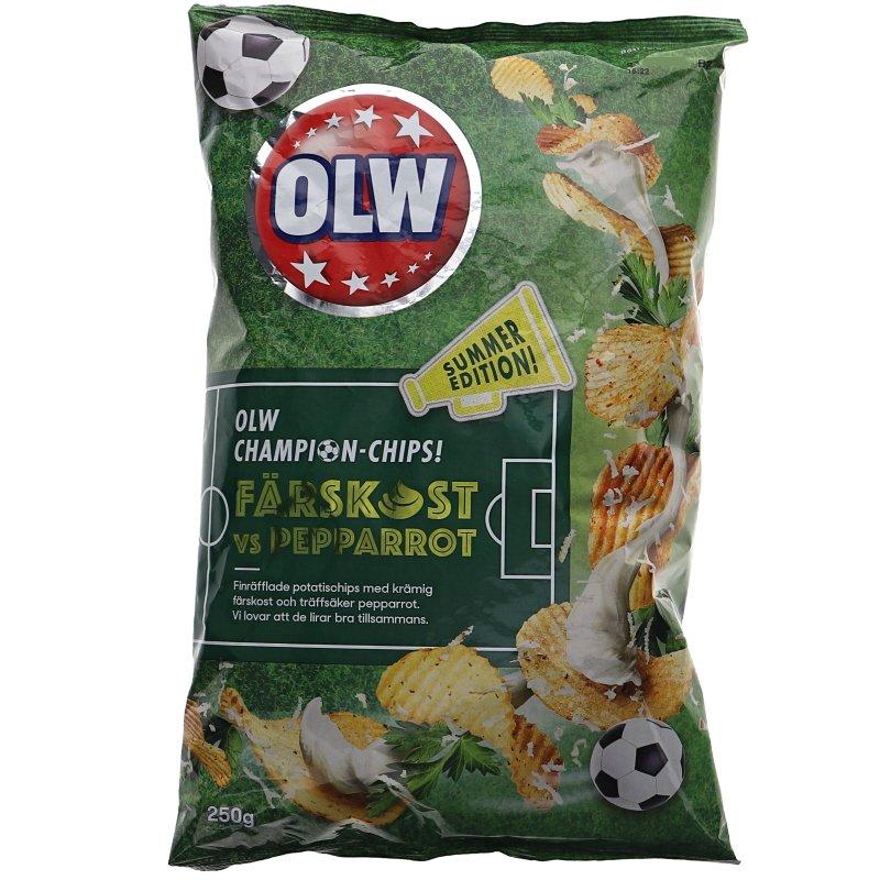 Chips Färskost Pepparrot - 38% rabatt