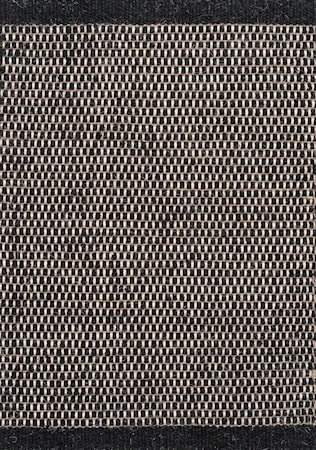 Asko Teppe Svart 80x250 cm