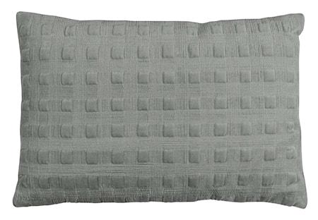 Kuddfodral Velvet Box - Grey