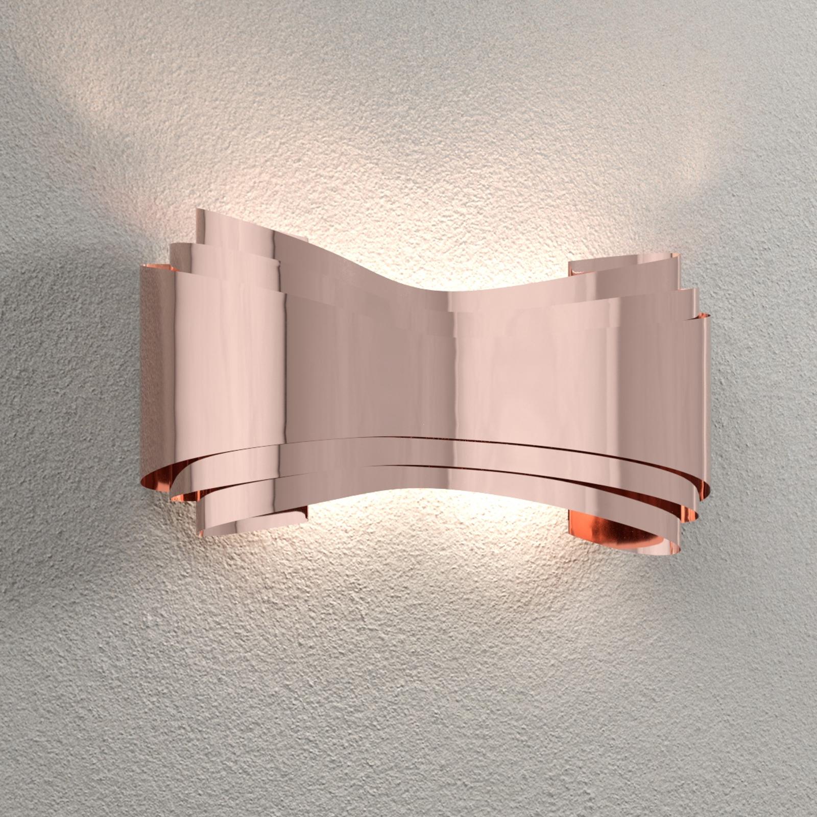 Ionica - kuparivärinen LED-seinälamppu