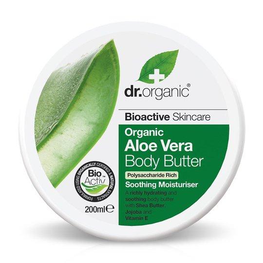 Dr. Organic Aloe Vera Body Butter, 200 ml
