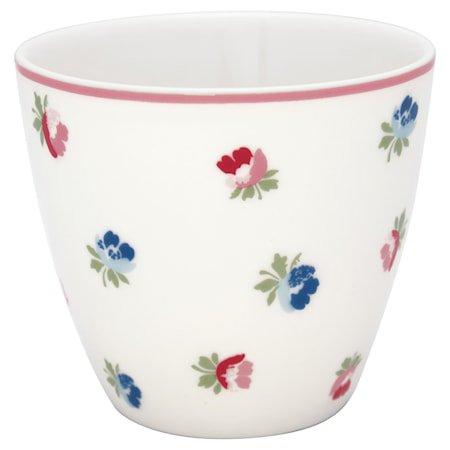 Viola Latte Cup Hvit