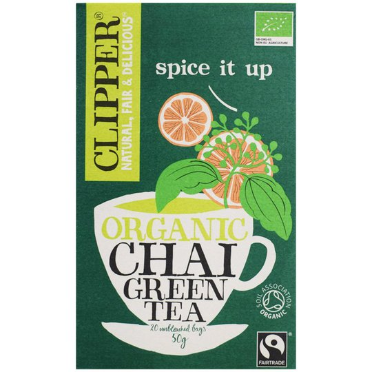 """Luomutee """"Chai Green"""" 50g - 33% alennus"""