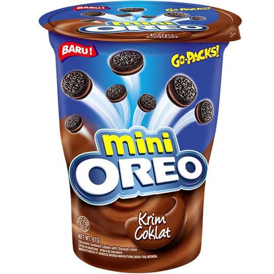 """Keksit """"Oreo Mini Chocolate"""" 67 g - 50% alennus"""