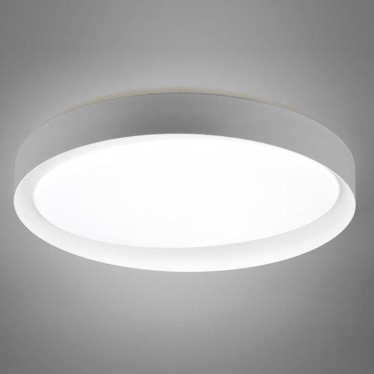 LED-taklampe Zeta, tunable white, grå/hvit