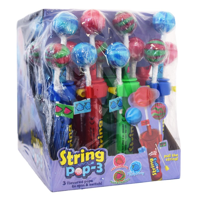 "Godisklubbor ""String Pop-3"" - 69% rabatt"