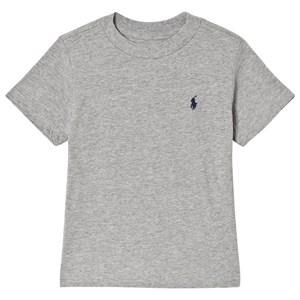 Ralph Lauren PP Logo T-shirt Grå melange S (8 years)