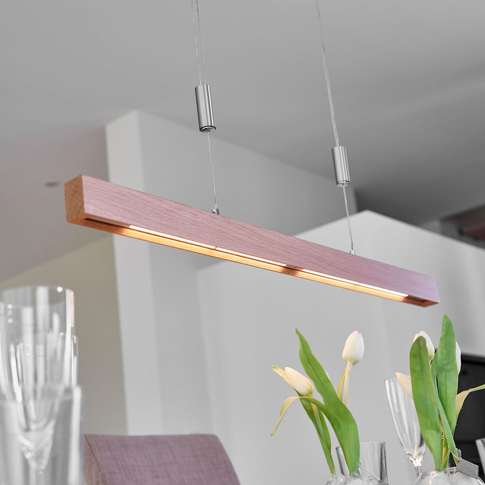 LED-tankoriippuvalaisin Nora tammea, 78 cm