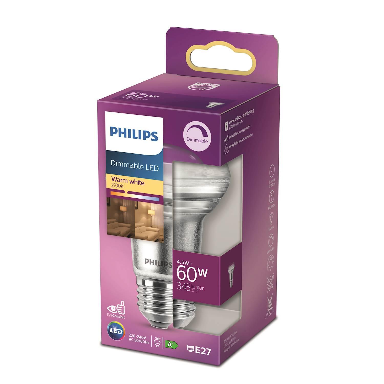 Philips LED Classic 60w refl e27 d