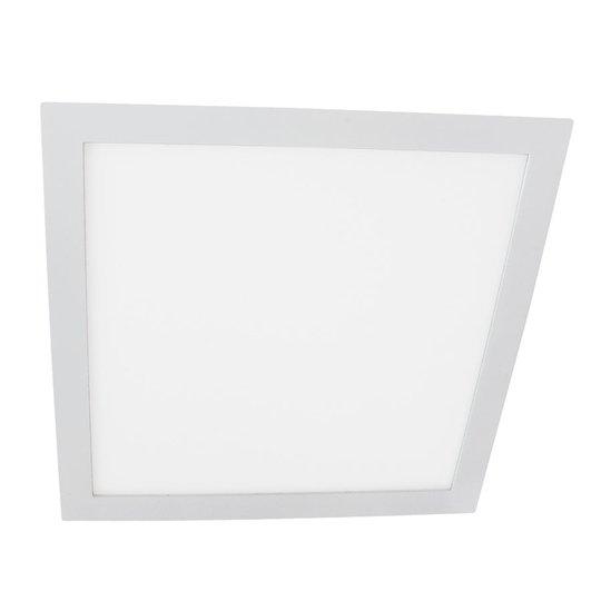 LED-uppovalo Moon Square 18 W, valkoinen, 4 000 K