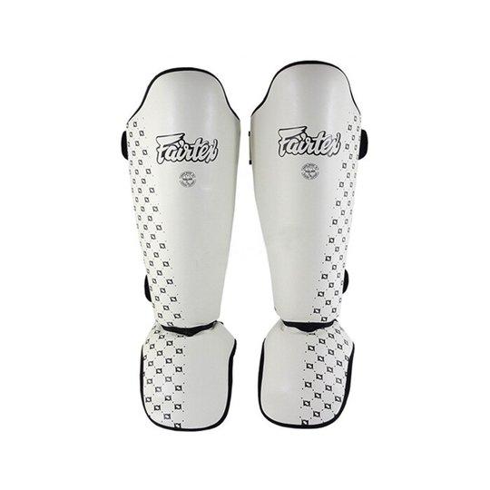 Fairtex SP5, Leg Protection, White
