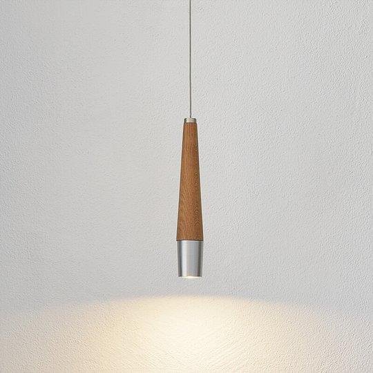 Conico – LED-riippuvalaisin, massiivipuinen osa
