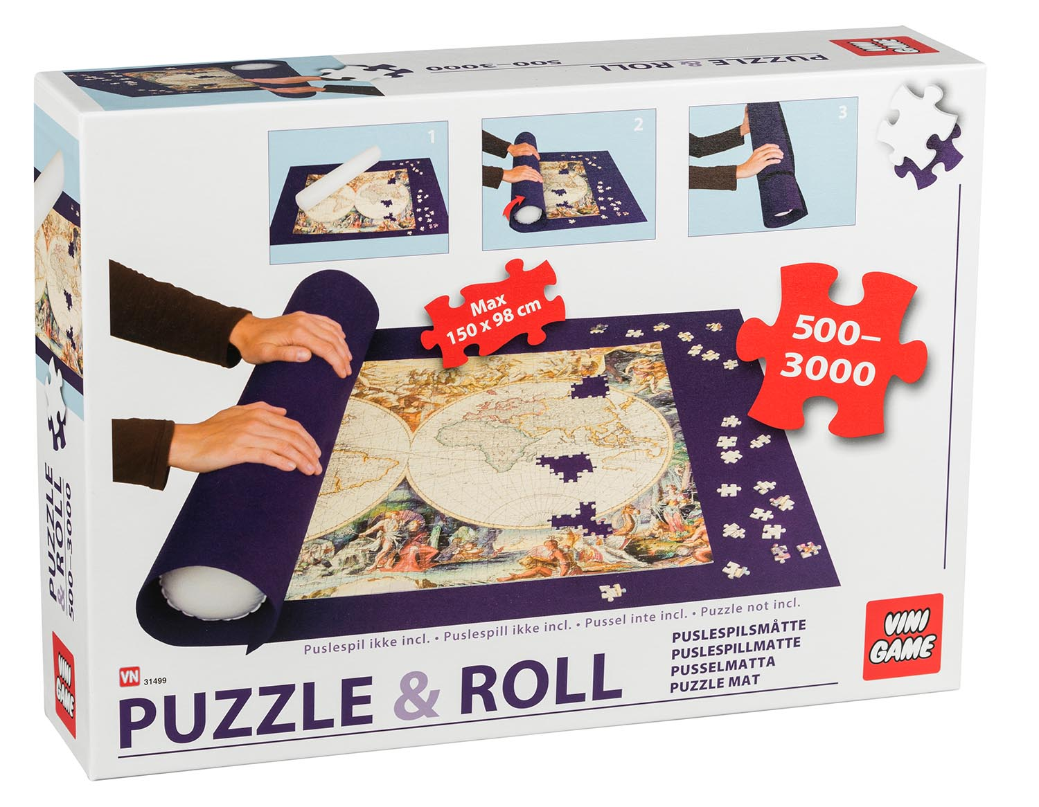 Puzzle Roll Mat - 500-3000 pc