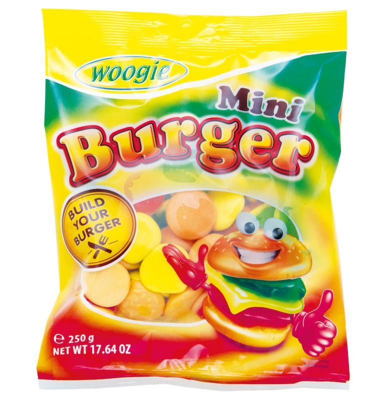 Woogie Mini Burgers 250g