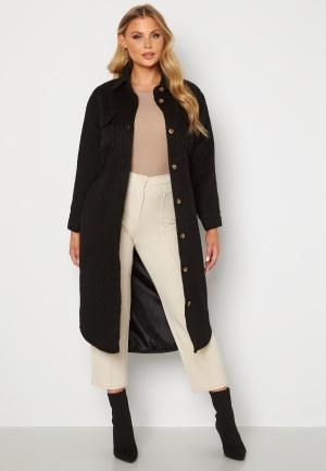 BUBBLEROOM Sofie Shirt Coat Shacket Black M