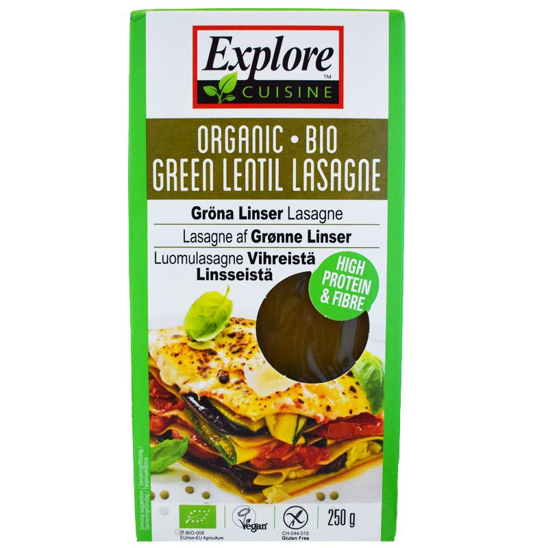 Eko Lasagneplattor Gröna Linser 250g - 28% rabatt