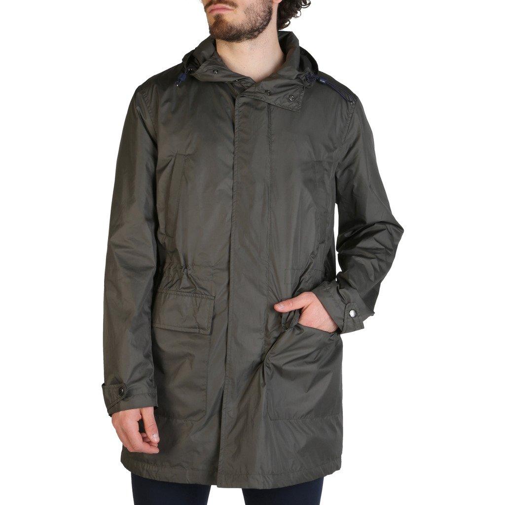 Tommy Hilfiger Men's Trench Coat Green TT0TT03037 - green 50