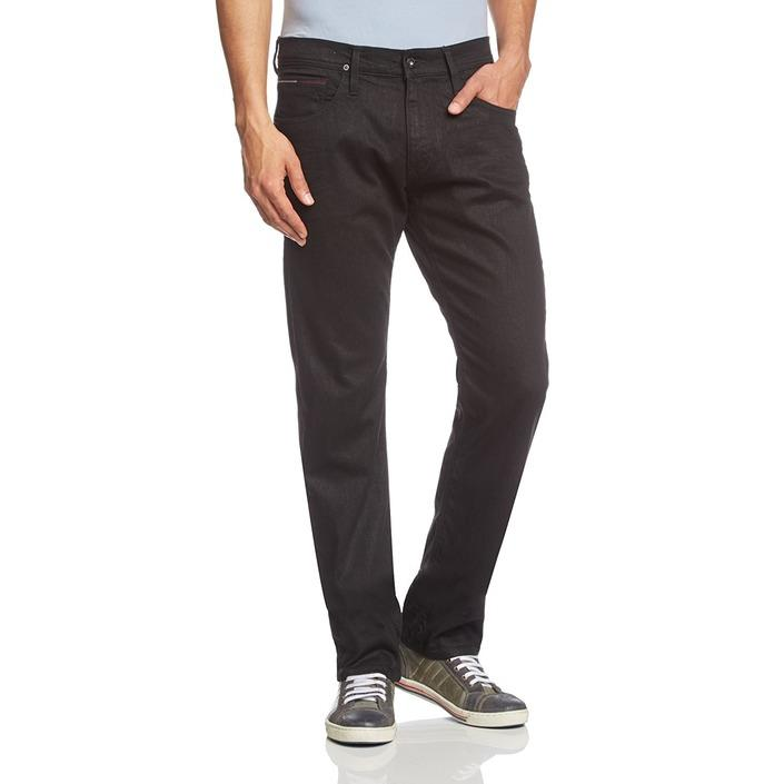 Tommy Hilfiger Men's Jeans Black 167437 - black W32_L36