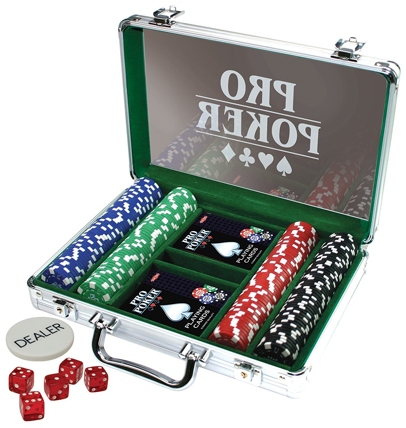 Tactic - Pro Poker Case 200 chips (03090)