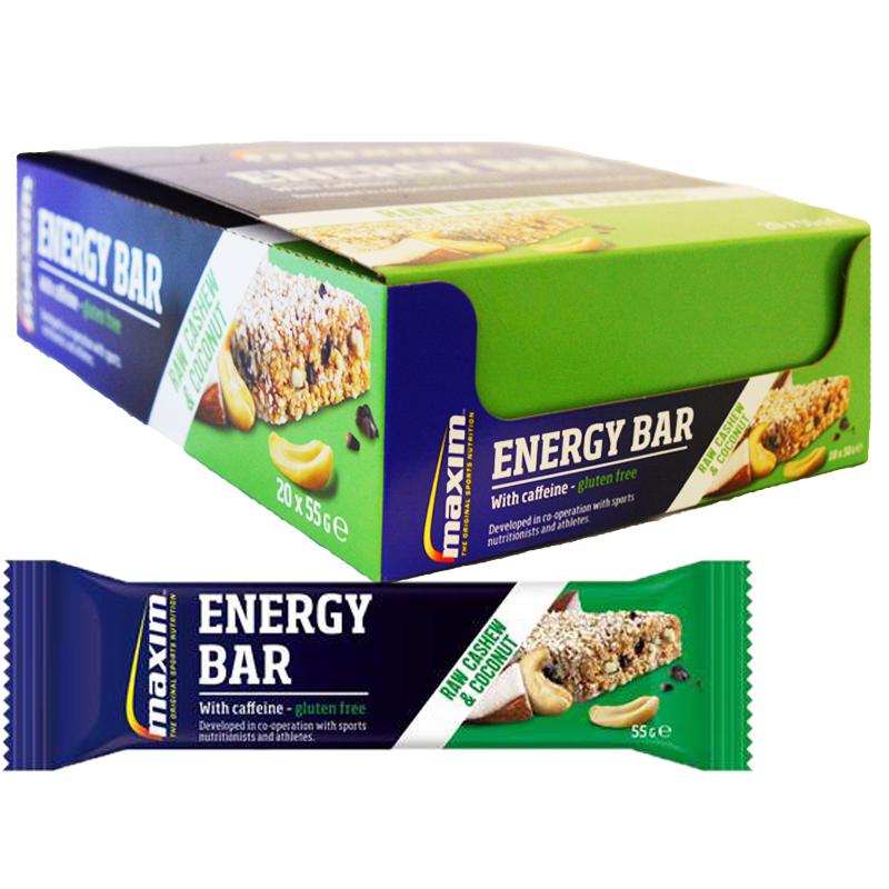 "Hel Låda Energibars ""Raw Cashew & Coconut"" 20 x 55g - 70% rabatt"
