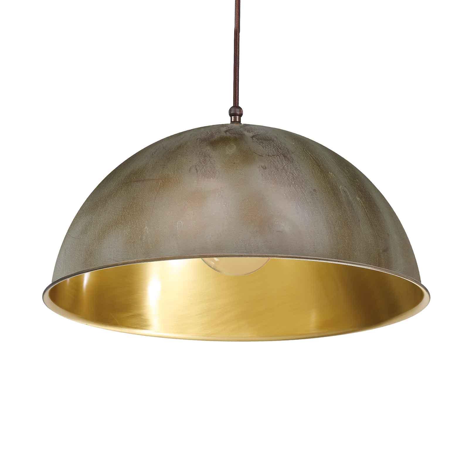 Riippuvalo Circle kulta/antiikkimessinki, Ø 30 cm