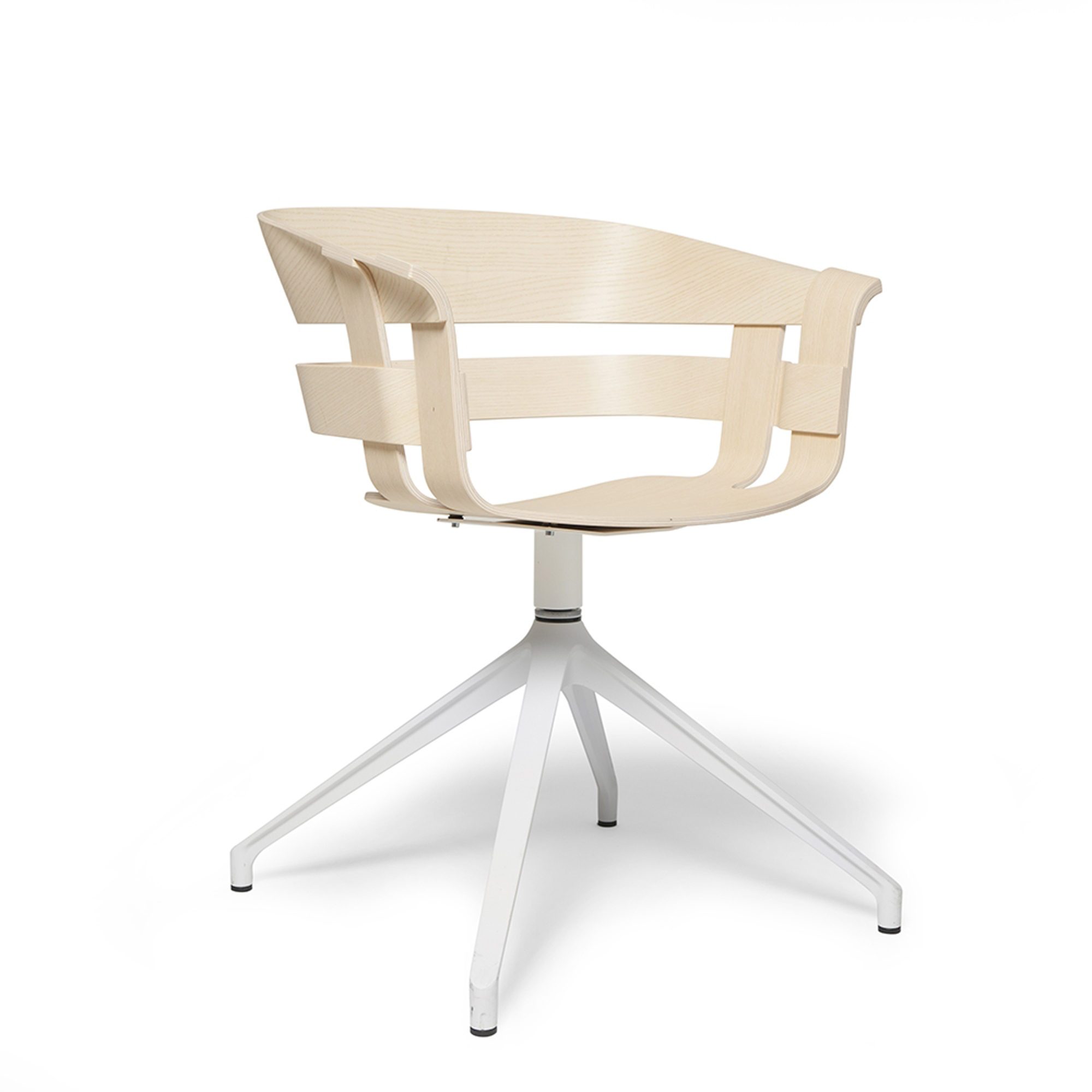 Design House Stockholm Stol Wick snurr ask/vit