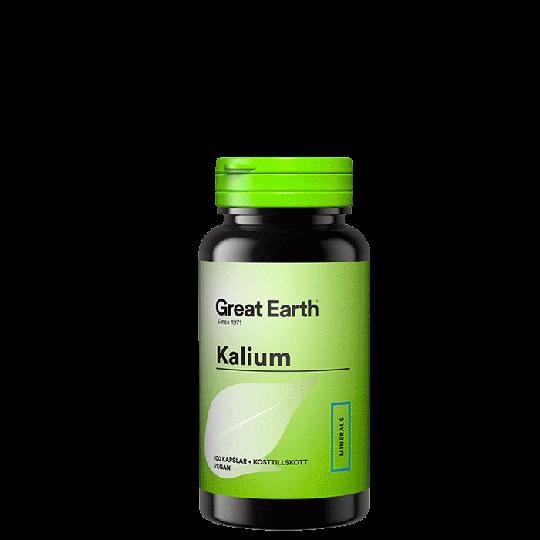 Kalium, 100 kapslar