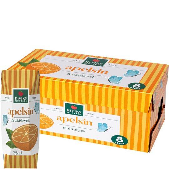 Apelsindryck 8-pack - 33% rabatt