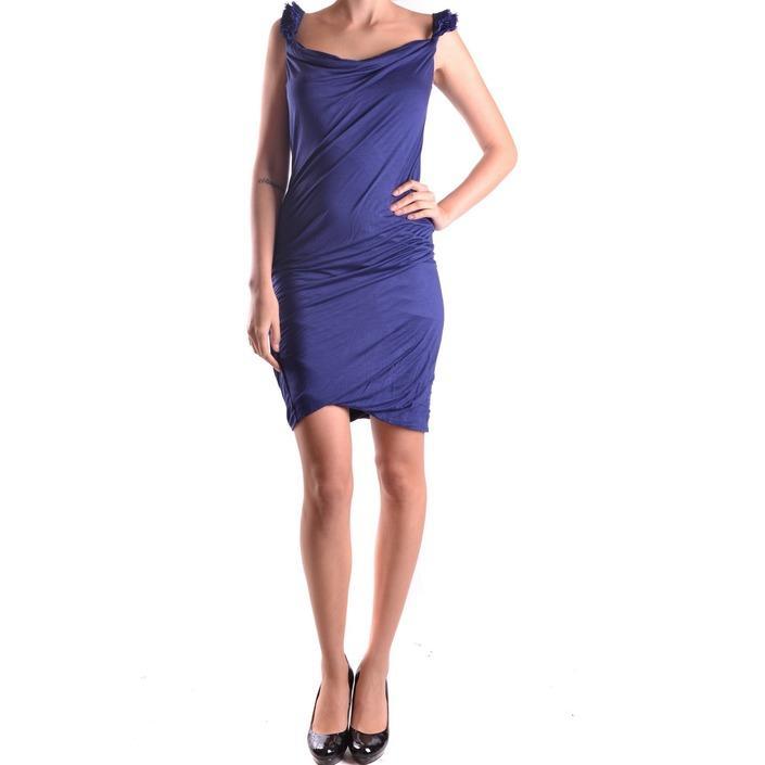 Dsquared Women's Dress Blue 186949 - blue L