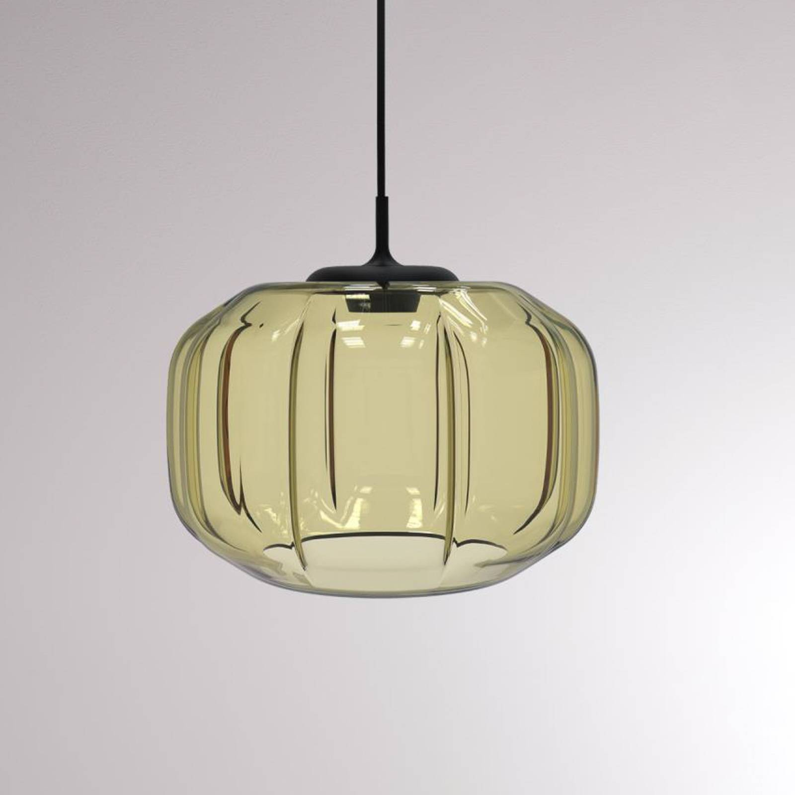 LOUM Fiori -LED-riippuvalaisin, samppanja