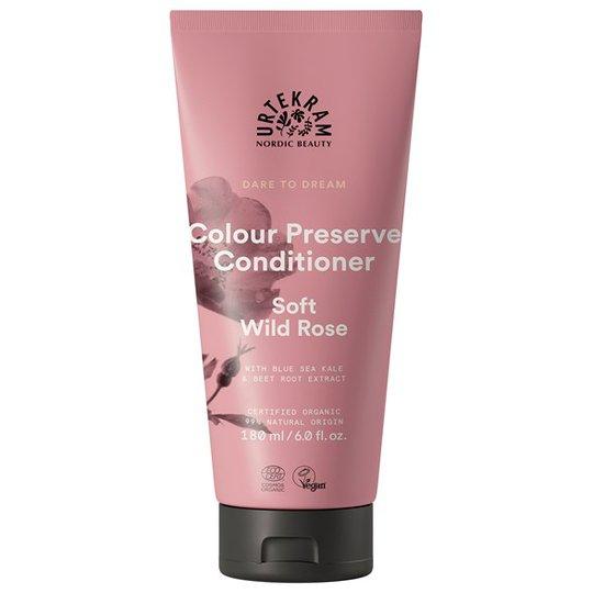 Urtekram Nordic Beauty Dare to Dream Colour Preserve Conditioner - Soft Wild Rose, 180 ml
