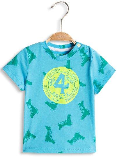 ESPRIT T-skjorte, Light Turquoise 62