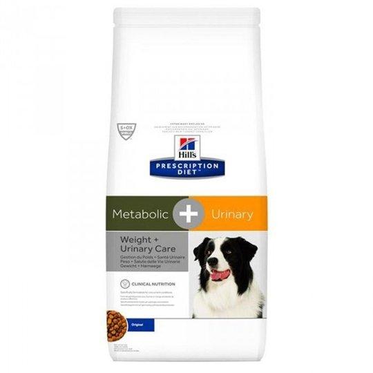 Hill's Prescription Diet Canine Metabolic + Urinary Weight + Urinary Care Original (12 kg)