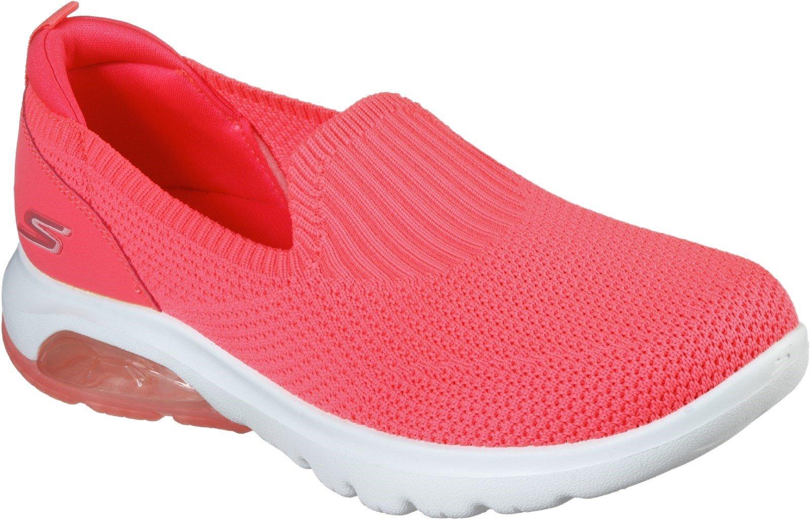Skechers Women's Gowalk Air Slip On Trainer Various Colours 30344 - Hot Pink 3