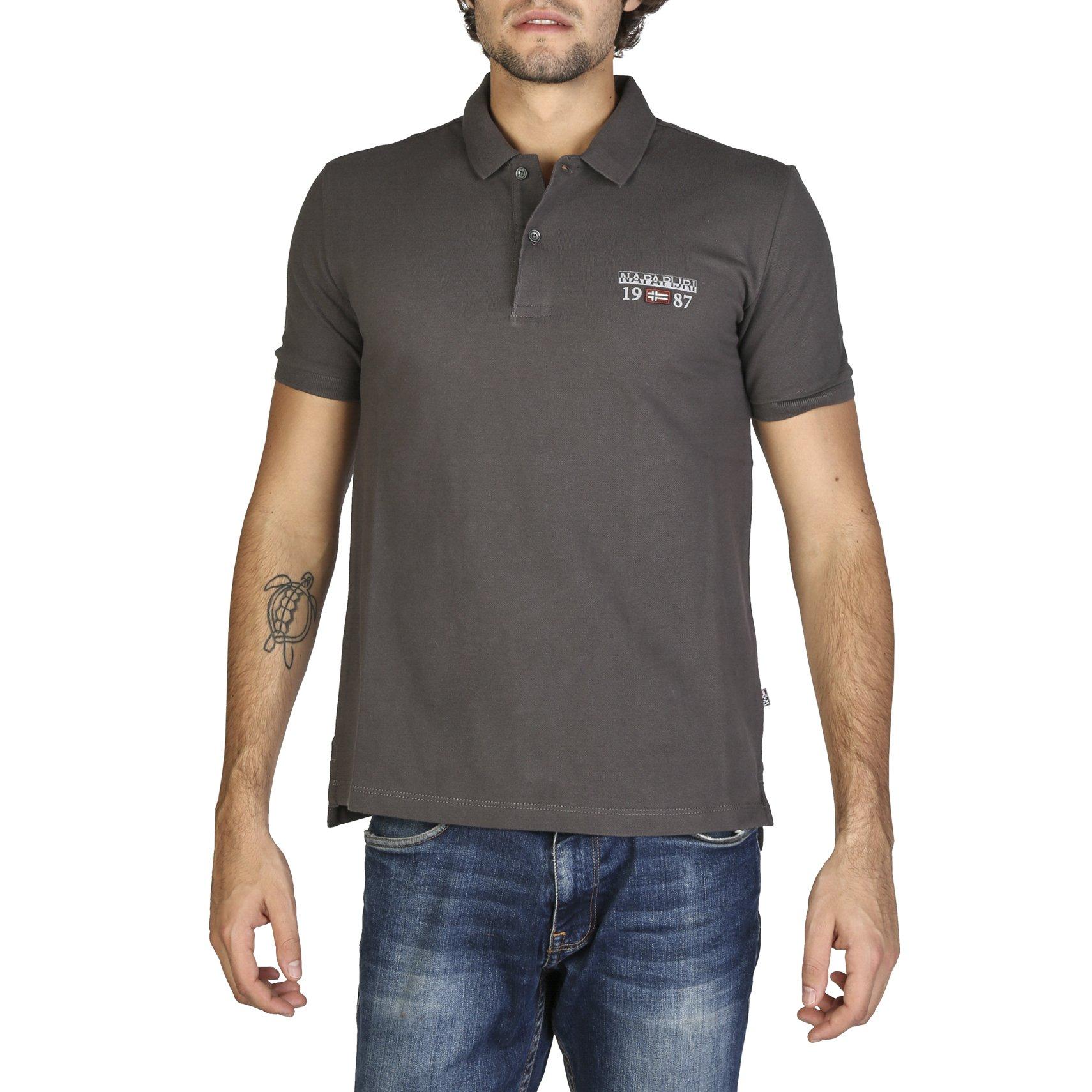Napapijri Men's Polo Shirt Various Colours N0YILY - grey M